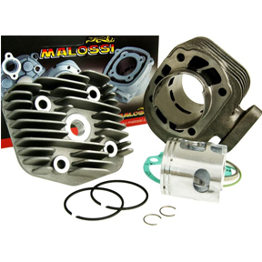 malossi 70cc big bore cylinder kit for 50cc 2 stroke a c kymco scooters. Black Bedroom Furniture Sets. Home Design Ideas