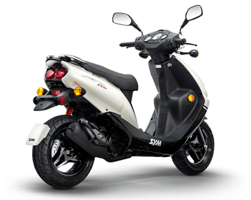sym 50cc 2 stroke jet evo scooter. Black Bedroom Furniture Sets. Home Design Ideas