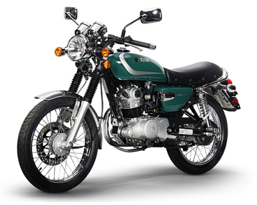 Sym Wolf Classic Green on Kymco 150cc Engine