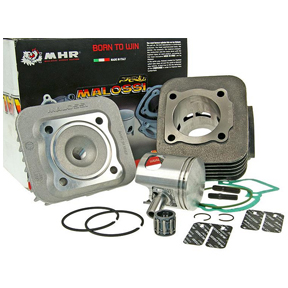 malossi 70cc big bore cylinder kit for 50cc 2 stroke piaggio gilera scooters. Black Bedroom Furniture Sets. Home Design Ideas