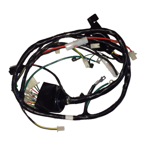 factory wire harness, hand tool power supply wire harness, wiring harness, cannon plugs wire harness, on part for 150cc scooter wire harness