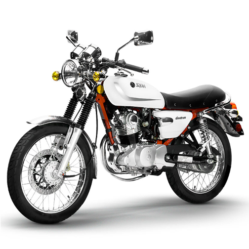 150cc SYM Wolf Classic Cafe Motorcycle