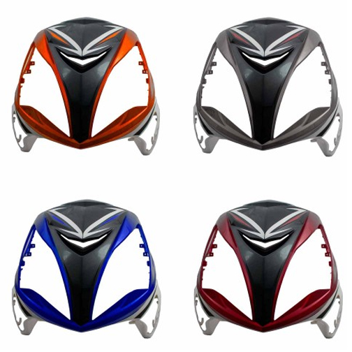Front Panel for Wolf Brand Scooters EX150 Sports
