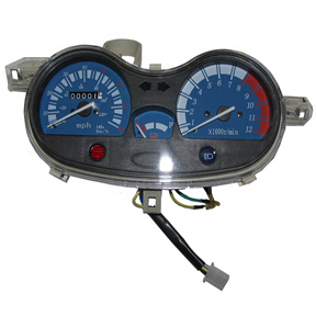 Instrument Panel, Type 2 for 150cc GY6 Chinese Honda Cloned