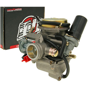 WPHMOTO 14mm Carburetor Carb with Gasket for 50cc 60cc 80cc 4 Stroke ATV Moped Scooter