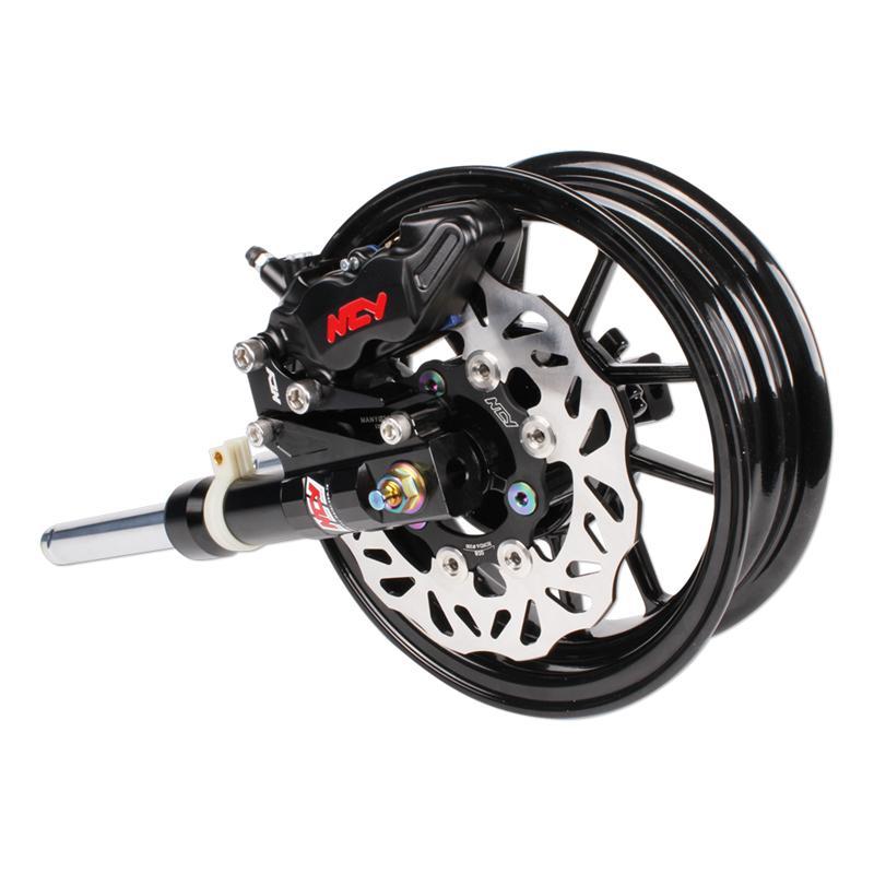 Scooter Turbo Friends: NCY Black Slammed Front End Kit For Honda Ruckus
