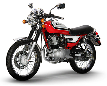 150cc SYM Wolf Classic 5-Speed Manual Motorcycle