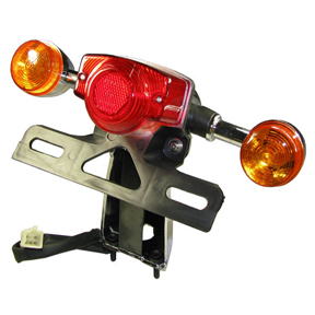 Tail Light Assembly for GY6 50-150cc Scooters
