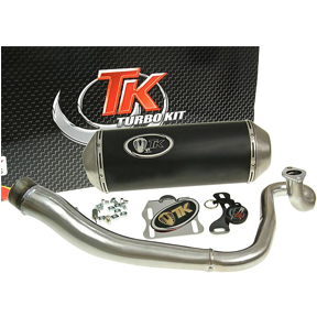 Turbo Kit M4T34 GMax Racing Exhaust for 150cc GY6 Sporty