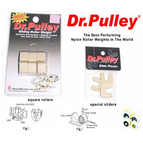 Dr  Pulley Sliding Weights, 26mm x 13mm for 400cc Scooters